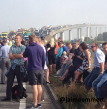 Latest On The Sheppey Crossing Incident