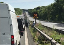 M2 Closed For Second Time This Week