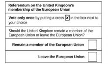 EU Referendum: How Swale Voted