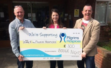 Sunday Soul Show Crew Raise Money For Hospice
