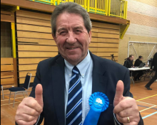 Gordon Henderson Returned As Local MP