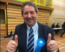 Gordon Henderson Returned As Local MP