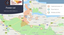 Major Power Cut Hits Hundreds Of Homes