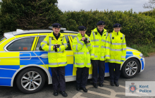 Police Cadets Help On 'Speedwatch' Duties
