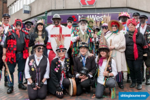 High Street Gets Ready For St George's Day