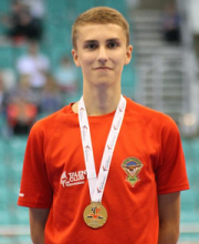 Sittingbourne's Will Tumber Wins Gold