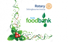 Rotary And Swale Foodbank Christmas Appeal