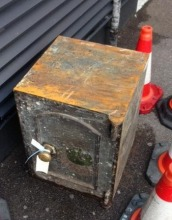 """Local"" Safe Recovered From The River Thames"