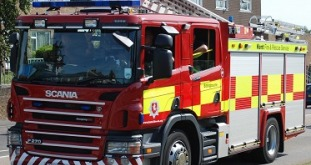 Man Hospitalised After Living Room Blaze