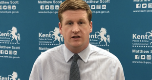 Matthew Scott Re-Elected As Kent's PCC
