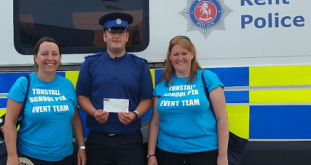 Police Property Fund Makes Donation To Local School